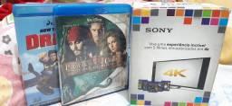 Coleção de DVDs Blu-Ray