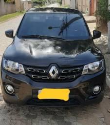 Renault kwid intense 1.0 18/19 gnv 5geração completo kit multi midia