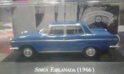 Miniatura Colecionável Simca Esplanada 1966 Carros Do Br
