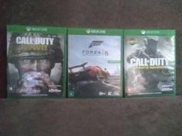 Vendo jogos novos Xbox one