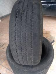 Vendo 4 pneus meia vida Bridgestone 255.60.R18