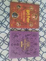 Livros Harry Potter a magia do cinema e O livro das criaturas de Harry Potter