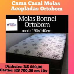 Promoçãoooooo de Camaa Molas Bonel Acopladas Ortobom