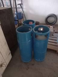 Garrafa de gas paleteiras etc