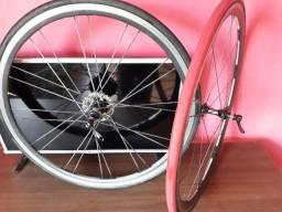 rodas speed vzan futura 700c completas com k7 e pneus