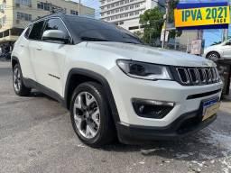 Jeep Compass 2019 Longitude + ipva 2021 pago + 30.000km + revisado jeep