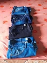 Vendo bermudas jeans novas