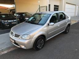 Renault / Logan Privilege 1.6 Flex 2009 Completo e Única Dona