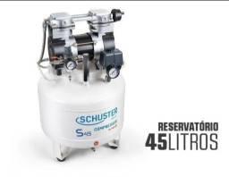 Compressor odontológico schuster 45l