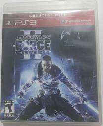 Jogo ps3 star Wars the force Unleashed 2