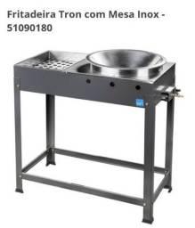 Fritadeira industrial inox top