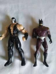 Dupla de bonecos Batman e Bane