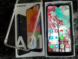 Samsung Galaxy A01 32 GB com nota