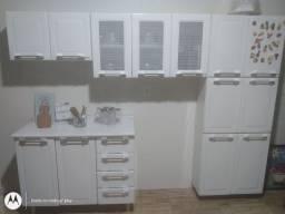 Armário de cozinha completo aço inox Itatiaia