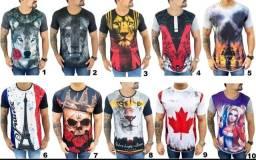 Camisas longline masculina