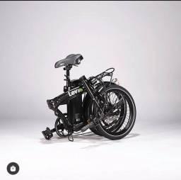 Bicicleta dobrável elétrica