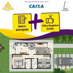 Casa + terreno 200m2 / bairro planejado, Loteamento N. 1/ Use Fgts