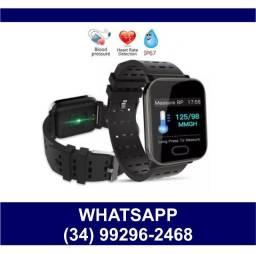 Relógio SmartBracelet Batimentos Calorias Bluetooth WhatsApp