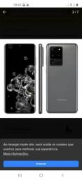 Celular samsung s20 ultra 128 gb