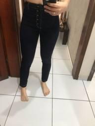 Vendo calça cos alto usada apenas uma vez