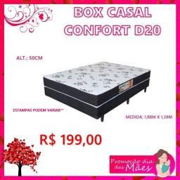 Box casal confort d20