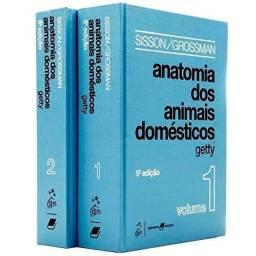 Livro de anatomia veterinária getty vol 1 e 2