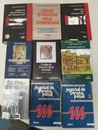 Livros jurídicos Diversos usados - A p E n A s R$ 10,00 cada!