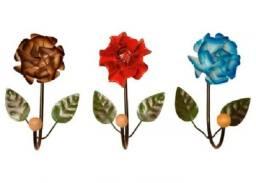 Cabide de flor decoração e utilidade para quartos cozinhas restaurantes e banheiros