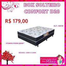 Box solteiro confort d20