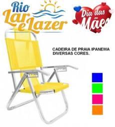 cadeira de praia 5 posiçoes