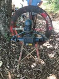 bomba rocher msg 42 com roda d'agua e suporte