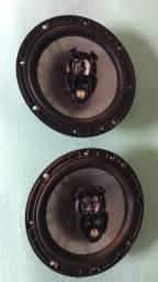 Auto falante Coaxial bravox 6pol bem conservado