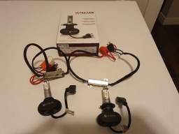 Lampada ultra led 8k 40 watts H7 com canceller.