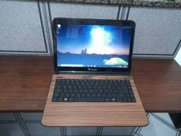 Notebook Itautec core i3 tela 14 hdmi  4gbram Wifi webcam bateria 100%