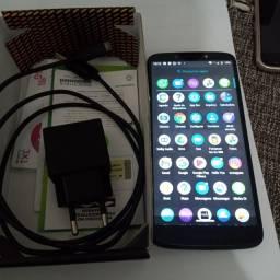 Moto G6 Play para vender rápido r$ 500 com caixa e carregador zap *