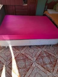 Vendo cama box pouco tempo de uso semi nova em perfeito estado de uso