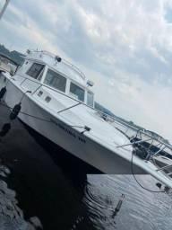 Barco Alvorada III de alumínio