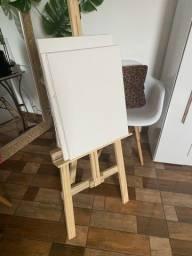 Cavalete de chão + 4 telas