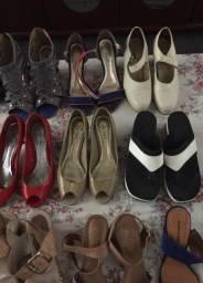 Vendo calçados usado em bom estado