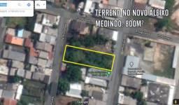 Terreno no Novo Aleixo com 800m² - Documentado - Financia