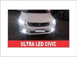 Ultra Led Premium Farol Baixo e Milha Civic!!