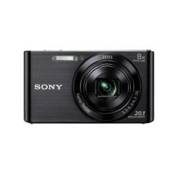 Câmera Sony DSC-W830 - Preto-12 vezes sem juros