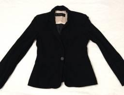 50,00 Blazer preto Zara tamanho P