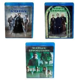 Blu Ray Trilogia Matrix Filmes Em Perfeito Estado