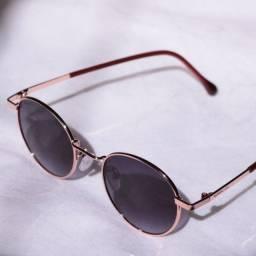 Óculos de Sol Redondo
