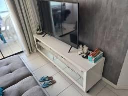 Rack Branco com Espelhos da Larshop