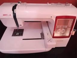 Maquina de bordar janome 230 e bivolt