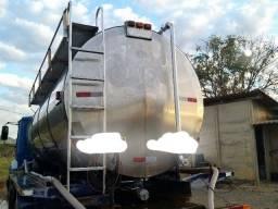 Tanque transporte de leite