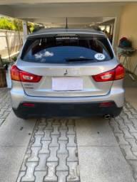 ASX Mitsubishi 2012, prata, banco couro, linda, IPVA 2021 integral pago