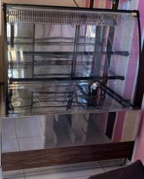 Vitrine Refrigerada Iglu Varci-100 Inox - 220v